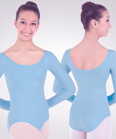 Body Wrappers Prowear Nylon Long Sleeve Leotard - Baum's ...